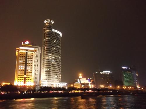 中国福建省アモイの夜景