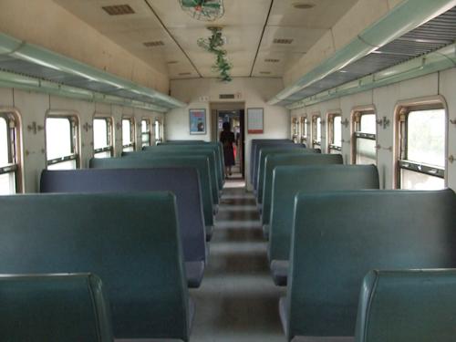 中国の電車(普通列車)