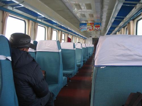 中国の電車(快速列車)