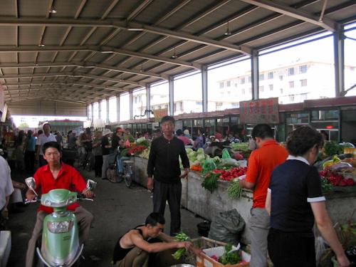 中国の市場