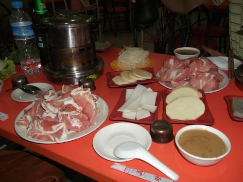 火锅(Huo3 Guo1)~中国の鍋